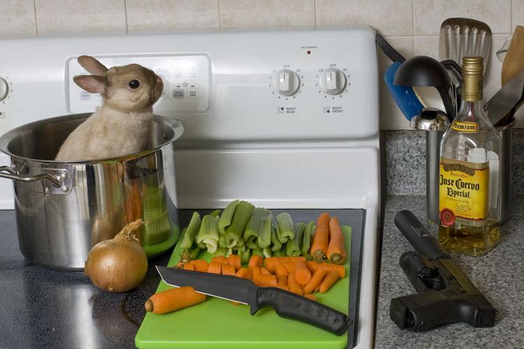 Жаркое из кролика