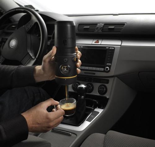 Автомобильная кофеварка эспрессо