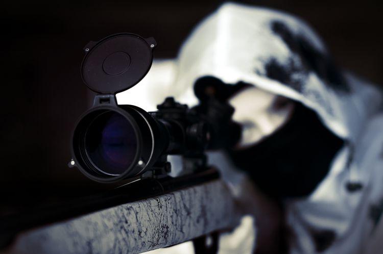 Девушка снайпер