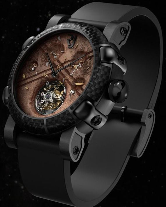 Часы Romain Jerome Moon Dust Roswell Watch